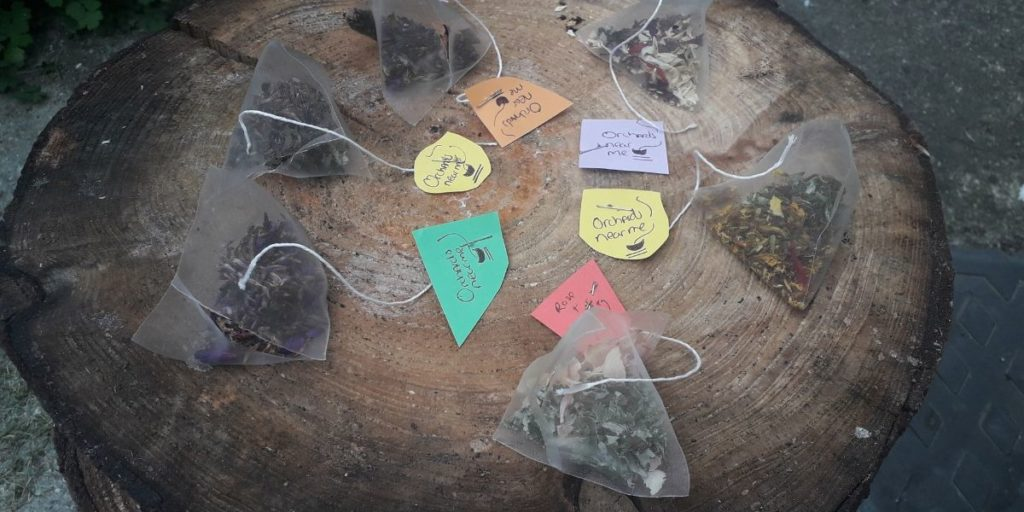 homemade-wild-tea-bags-workshop-orchards-near-me
