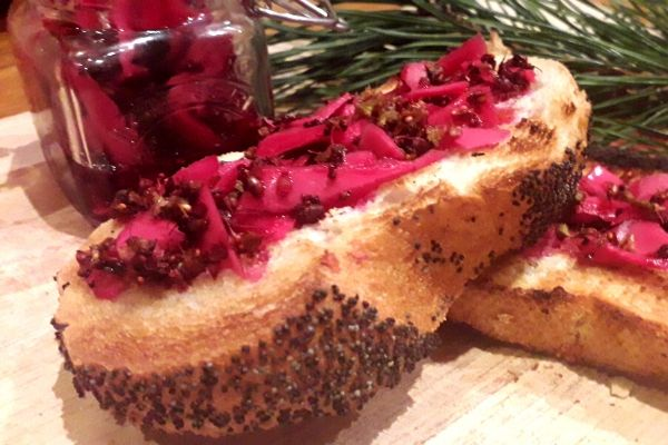 pickled-red-cabbage-cheese-board-side-dish