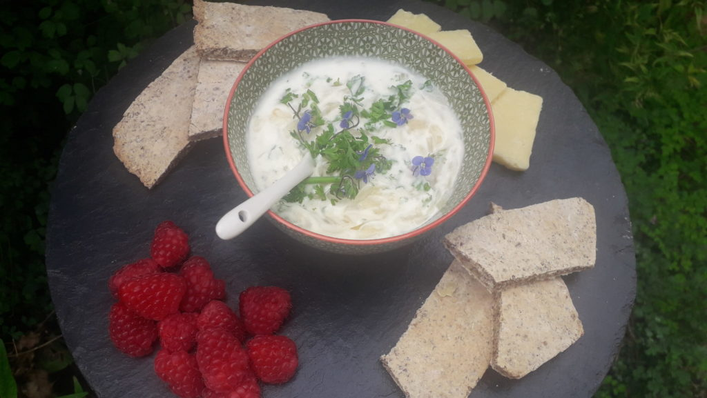 caramelised-wild-onion-and-nettle-dip-orchards-near-me